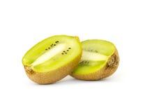 Kiwi fruit isolated on white background. Fresh Kiwi fruit isolated on white background Royalty Free Stock Images