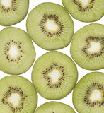 Kiwi fruit isolated white background Royalty Free Stock Image