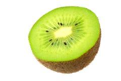 Kiwi fruit isolated on a white background royalty free stock photo