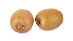 Kiwi fruit isolated on white background, macro Stock Images