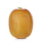 Kiwi fruit isolated on white background, macro Royalty Free Stock Images