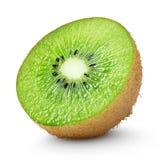 Kiwi fruit isolated on white Stock Photo