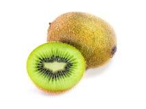 Kiwi Fruit, isolato su fondo bianco Immagini Stock Libere da Diritti
