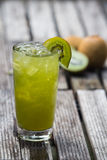 Kiwi fruit juice Stock Images