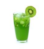 Kiwi fruit juice Stock Images