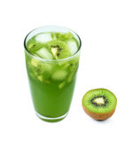 Kiwi fruit juice Royalty Free Stock Images