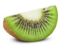 Kiwi fruit. Juicy kiwi fruit isolated on white background. Clipping Path Stock Photo
