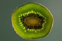 Kiwi Fruit Levitation Fotografia de Stock Royalty Free