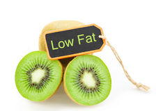 Kiwi fruit low fat concept. Royalty Free Stock Images