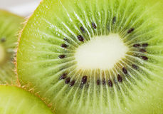Kiwi fruit macro Royalty Free Stock Photography