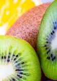 Kiwi fruit macro Royalty Free Stock Image