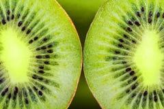 Kiwi fruit macro Royalty Free Stock Photos