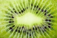 Kiwi fruit macro Stock Photography
