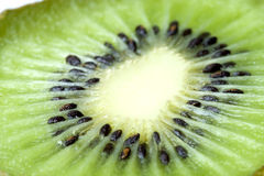 Kiwi Fruit Macro Isolated Stock Photo