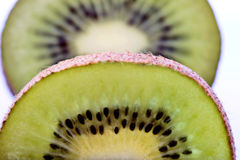 Kiwi Fruit Macro Royalty Free Stock Photo