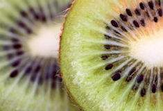 Kiwi Fruit Macro Stock Photography