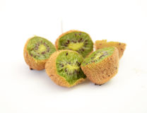 Kiwi fruit, macro Royalty Free Stock Photos