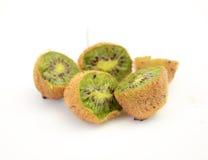 Kiwi fruit, macro Royalty Free Stock Photos