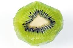Kiwi Fruit maturo verde Fotografia Stock Libera da Diritti