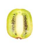 Kiwi Fruit mezzo Fotografie Stock Libere da Diritti