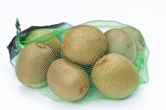 Kiwi fruit in a net bag Royalty Free Stock Image
