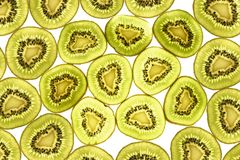 Kiwi fruit pattern. Stock Images