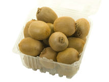 Kiwi Fruit in Plastic Can Royalty Free Stock Photos