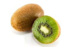Kiwi fruit slice Stock Photo