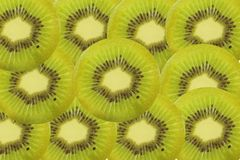 Kiwi fruit slice Royalty Free Stock Images