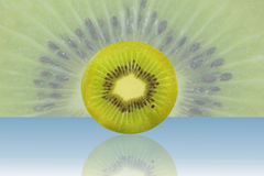 Kiwi fruit slice Royalty Free Stock Photo