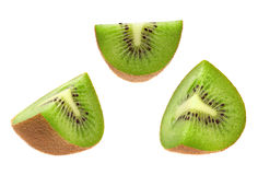 Kiwi fruit slice Royalty Free Stock Photos