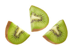 Kiwi fruit slice Stock Images