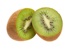 Kiwi fruit slice Stock Photos