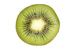 Kiwi fruit slice Stock Photography