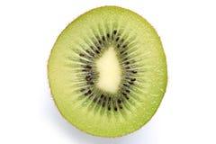 Kiwi fruit slice isolated Royalty Free Stock Photo