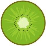 Kiwi fruit. Slice of ripe kiwi fruit close up Stock Image