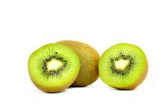Kiwi fruit slice Stock Photography