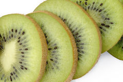 Kiwi fruit sliced Royalty Free Stock Photos