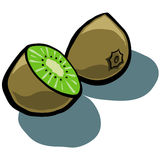 Kiwi Fruit Sliced Royalty Free Stock Image