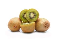 Kiwi fruit sliced segments Royalty Free Stock Images