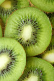 Kiwi fruit slices. For backgrounds or textures Royalty Free Stock Photo