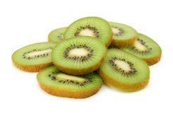 Kiwi fruit slices royalty free stock photo
