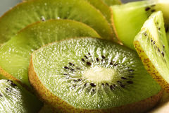 Kiwi fruit slices Royalty Free Stock Photo