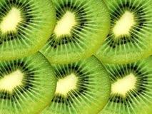 Kiwi fruit slices Stock Photos