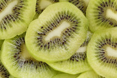 Kiwi fruit slices background Royalty Free Stock Images