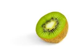 Kiwi fruit slices isolated on white background Royalty Free Stock Image