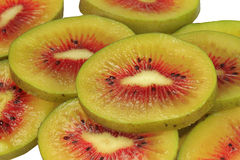 Kiwi fruit 1378 slices Stock Image