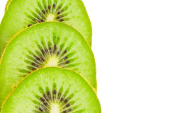 Kiwi fruit slices. Stock Photo