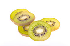 Kiwi fruit slices Stock Image