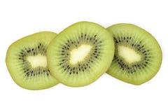 Kiwi fruit slices Royalty Free Stock Photos